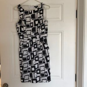 Dresses & Skirts - Black and white business dress